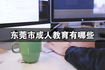 东莞市成人教育有哪些